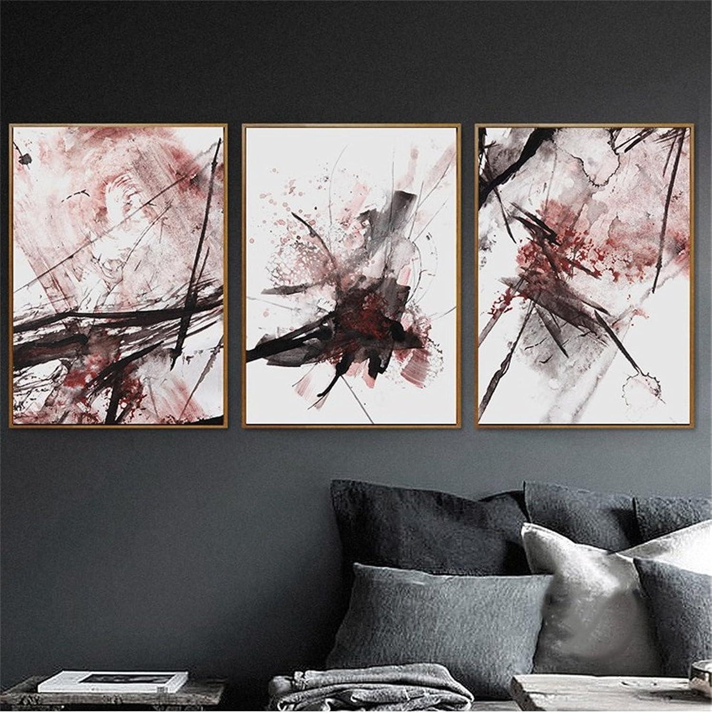 Hay más marcas de productos de alta calidad. WUTONGEstilo nórdico frío de la Pintura Decorativa del Arte Abstracto Abstracto Abstracto de en el Fresco Triple de la Sala de EEstrella del sofá de la Sala de EEstrella del Fondo (los 52  72cm)  Venta al por mayor barato y de alta calidad.