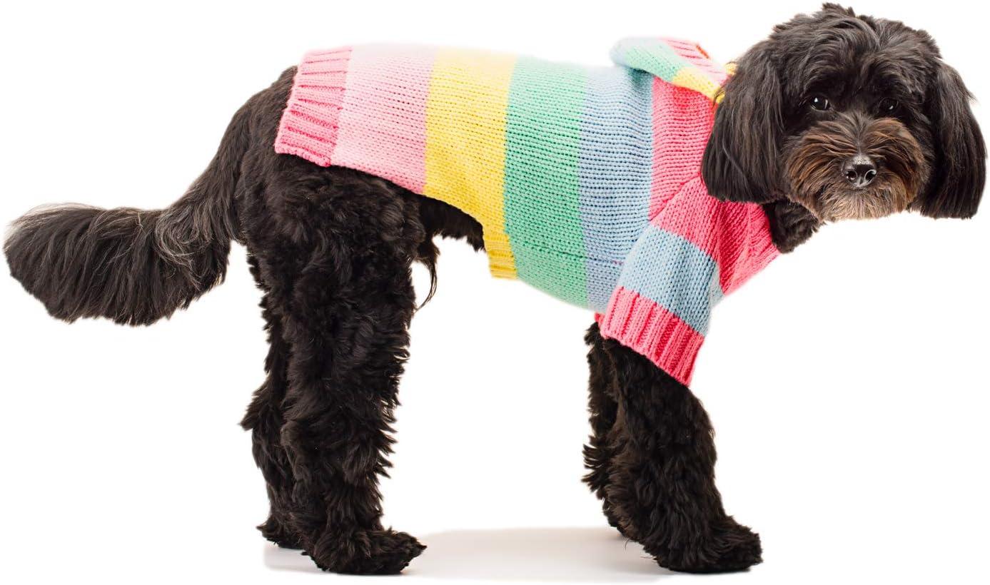 Stinky G Blue Stripe Dog Hoodie Sweater