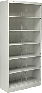 HON Brigade 600 Series Shelf File with 6 Shelves and Open Front, 36