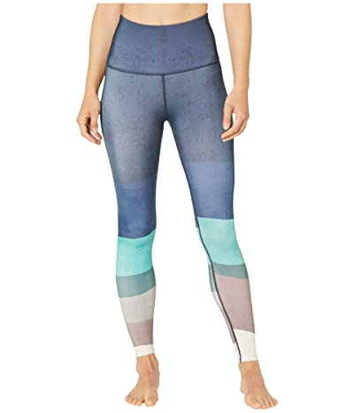 Beyond Yoga Lux High Waisted Midi Leggings (Scenic Ombre) Women