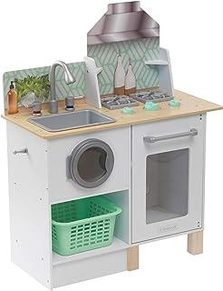 KidKraft Whisk & Wash Kitchen & Laundry, White