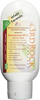 3rd Rock SunBlock for Kids - 1 Pack - 100% Safe, Toxin-Free and Natural Zinc Sunscreen for Infants and Children