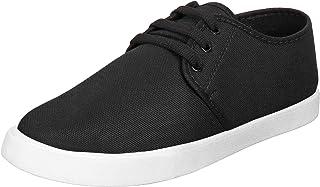 WORLD WEAR FOOTWEAR Men's (349) Black Casual Sneakers Shoes