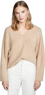 Women's V Neck Cashmere Dolman Sweater