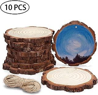 wooden tree slices uk