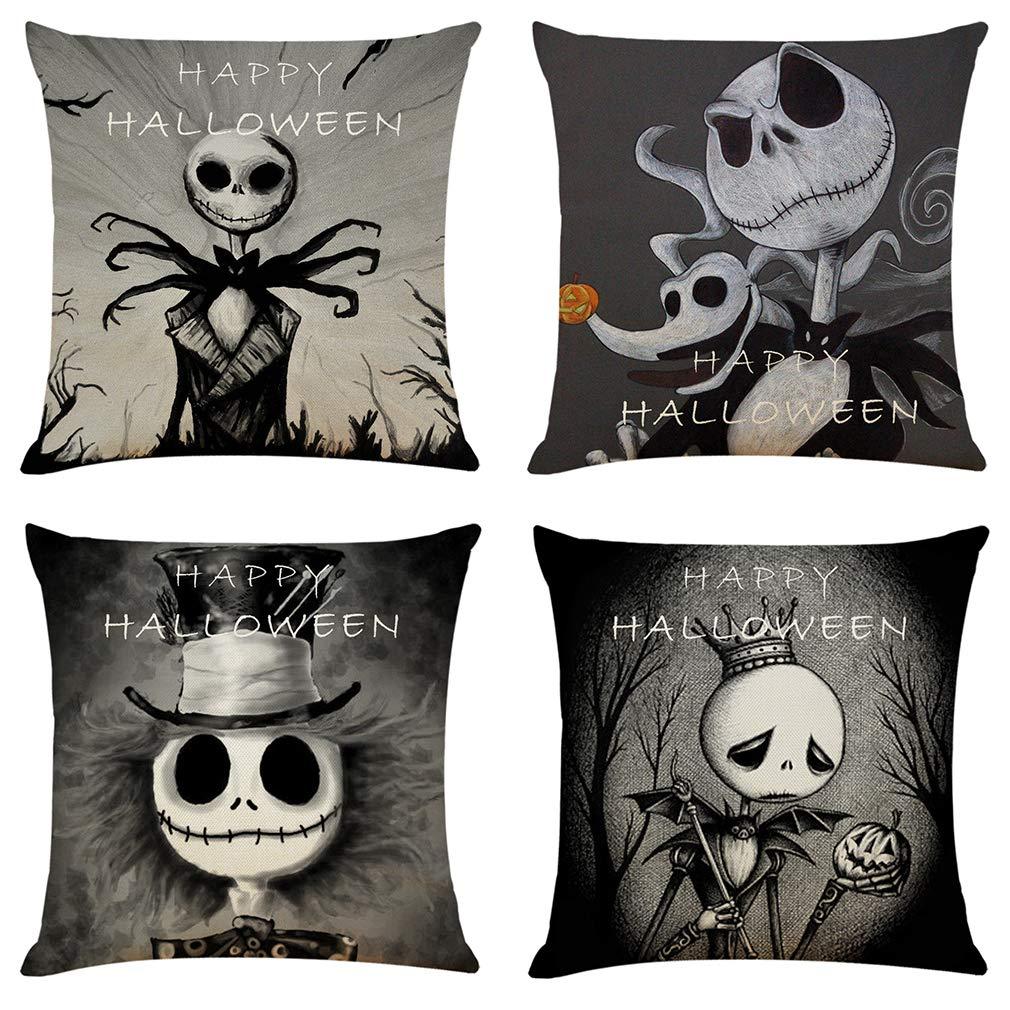 Throw Sofa Pillow Case Linen Cotton