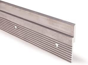"""Orange Aluminum French Cleat Z Rails (12"""" Rails, 4 Holes Each, 2 Pack)"""