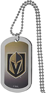 Siskiyou Sports NHL Vegas Golden Knights Team Tag Necklace, 26 inches