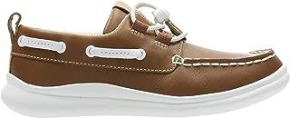 Clarks Boy's Cloud Swing Leather Sneakers