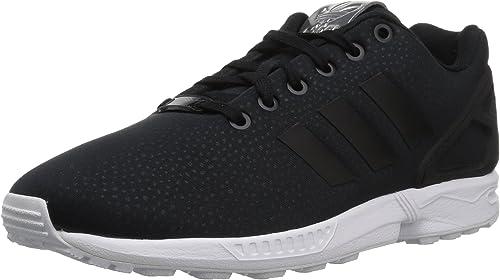 Adidas Originals Wohommes ZX Flux W W FonctionneHommest chaussures noir Metallic argent, 9.5 Medium US  livraison gratuite