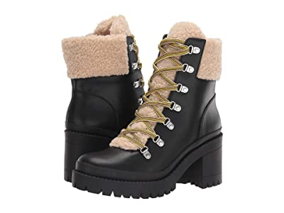Steve Madden Bundleup Winter Boot (Black Leather) Women