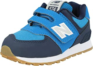 New Balance 574 Natural Indigo/New Classic Blue Suede Baby Trainers Shoes