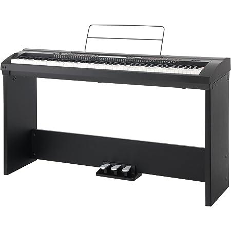 Set completo de Stage Piano Classic Cantabile SP-250 BK negro (incl. soporte)