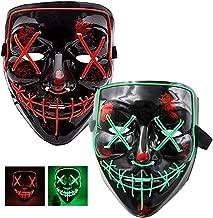 Best halloween mask light up eyes Reviews