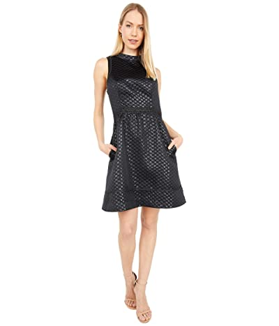 Lilly Pulitzer Zaria Dress (Onyx Polka Dot Jacquard) Women