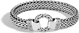 """John Hardy Men's""""Classic Chain"""" Sterling Silver 11mm Chain Bracelet with Lobster Clasp"""