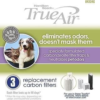 Hamilton Beach Replacement Carbon Pet Filter(04234G). Works with TrueAir 04531GM, 04530GM, 04532GM