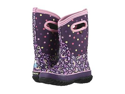 Bogs Kids Classic Rainbow (Toddler/Little Kid/Big Kid) (Purple Multi) Girls Shoes