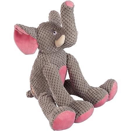"15/"" Elephant Squeaky Dog Toy"