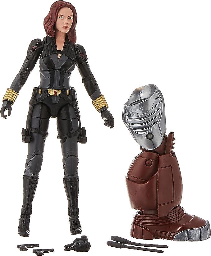 Marvel Legends Series 8 Black Widow Blonde Variant Action Figure Toy Biz for sale online