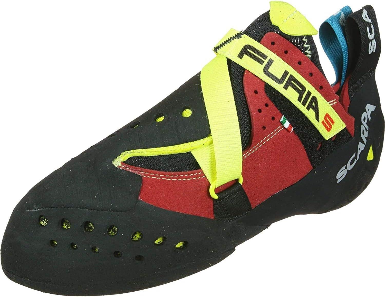 SCARPA Furia S Men's Ranking integrated 1st place Climbing Multicolour Size: Shoes Cheap sale 8 UK