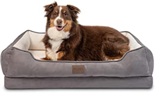 Pet Craft Supply Premium Orthopedic Lounger Dog Bed Sofa...