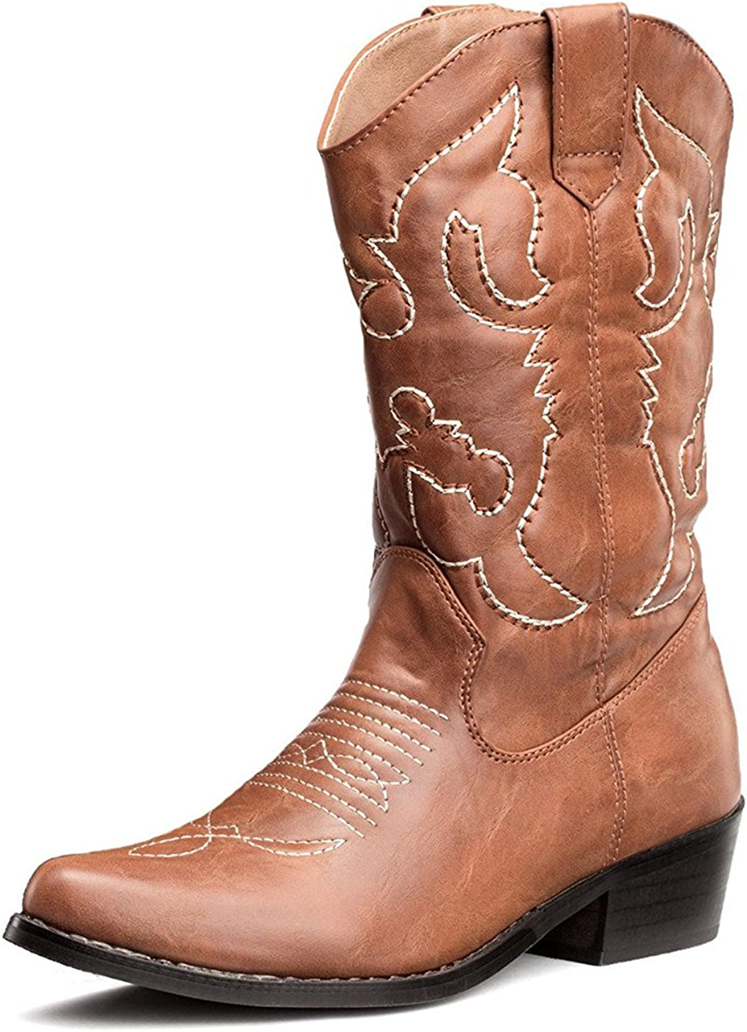 SheSole Women's Western Cowgirl Cowboy Boots