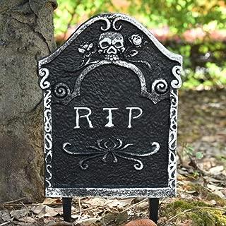 ハロウィーン泡RIP墓地墓石墓石の装飾ハロウィーンの庭の装飾 (Color : E)