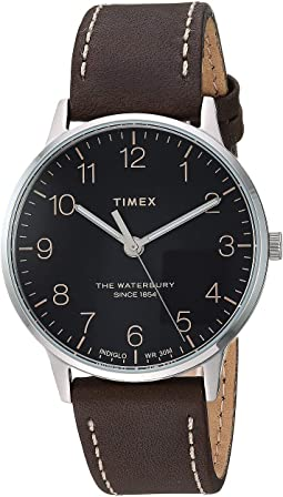 40 mm Waterbury Classic Leather