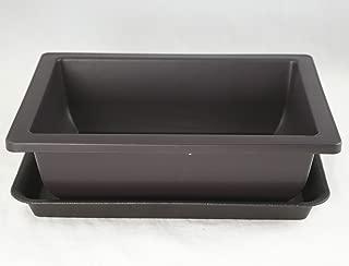 Rectangular Plastic Bonsai/Succulent Pot + Tray 10