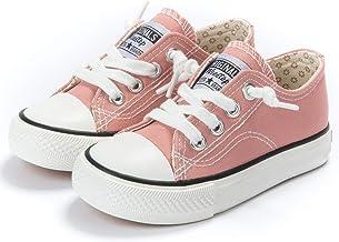کودک نو پا Weedep / بچه کوچک پسران و دختران لغزش کفشهای کتانی بوم