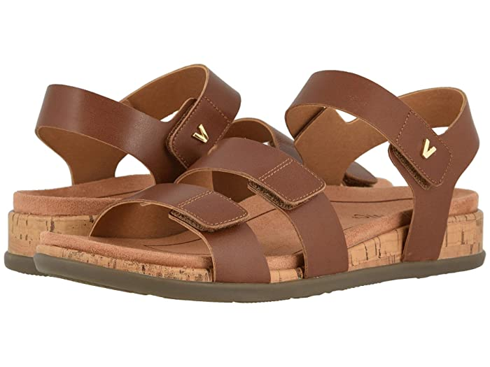 VIONIC  Colleen (Cinnamon Leather) Womens Shoes