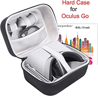 Oculus Go用ケース、ハードEVAキャリーバッグ収納ボックス、Oculus Go Standalone Virtual Realityヘッドセットとアクセサリー用。