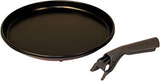 Whirlpool W10187336A Microwave Crisper Pan with Ha
