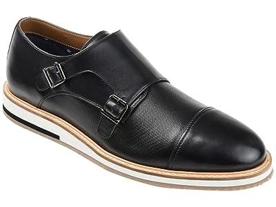 Thomas & Vine Thatcher Cap Toe Monk Strap Dress Shoe