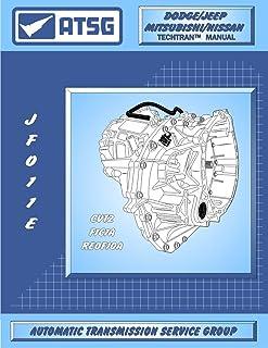 ATSG Manual de reparo de transmissão automática JATCO JF011E CVT (F4A51, CVT2, RE0F10A melhor transmissão passo a passo di...