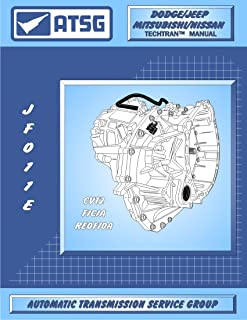 ATSG JATCO JF011E CVT Automatic Transmission Repair Manual (F4A51, CVT2, RE0F10A Transmission BEST STEP BY STEP Repair Book Available)