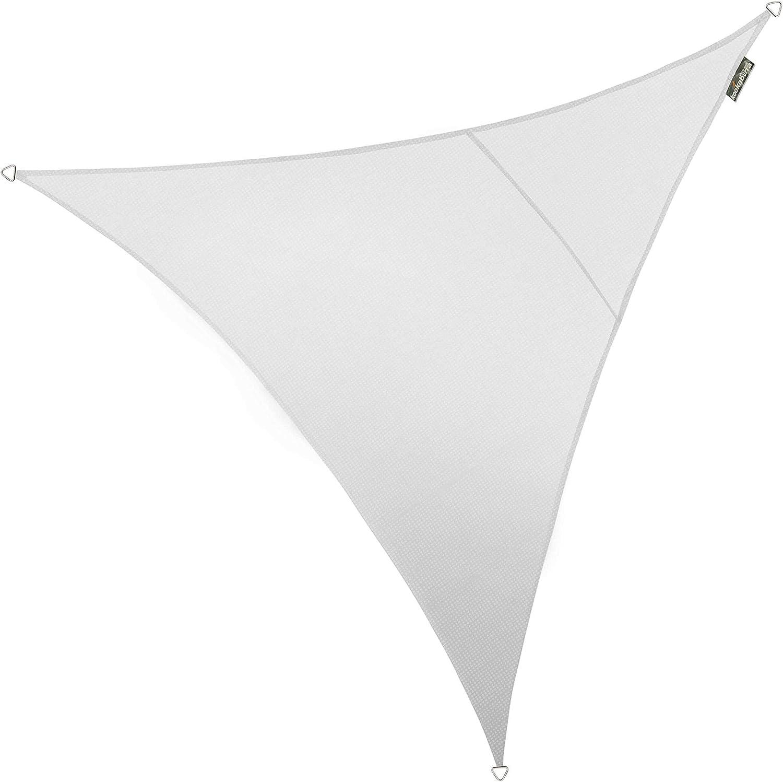 Polar White 3,6 m, tri/ángulo, 93,3/%, Bloqueador UV Toldo Transpirable para toldo de Vela Kookaburra