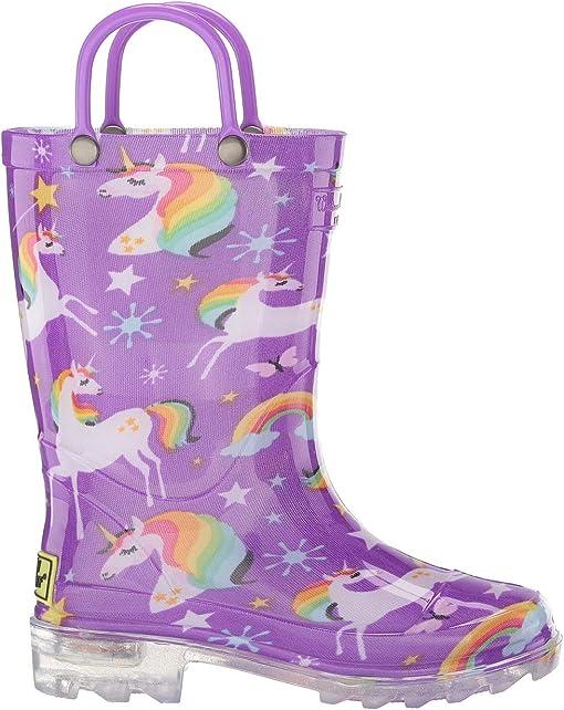 Rainbow Unicorn Purple