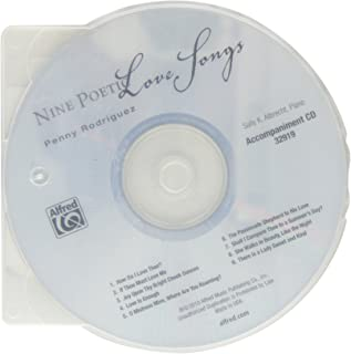 Nine Poetic Love Songs: For Solo Voice and Piano