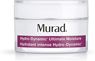 Murad Hydro-Dynamic Ultimate Moisture - (1.7 fl oz), Lightweight Moisturizer that Provides 24 Hour Hydration, Instantly Reduces Wrinkles with Advanced Hyaluronic Acid Technology and Natural Extracts