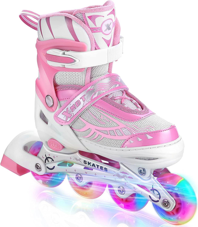 Hikole Sale SALE% OFF Adjustable Inline Skates Up SALENEW very popular All Light with