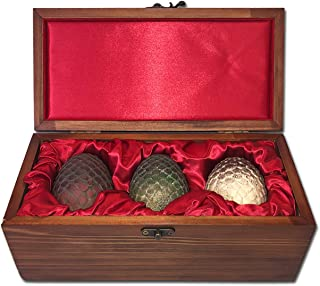Olga Ganoudis Designs Game of Thrones Dragon Eggs Collectible Set (House Targaryen Limited Edition Ver.)