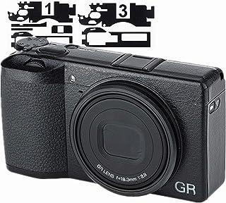 レザー保護フィルム リコー Ricoh GR III GR3 専用 カメラ 保護 傷防止 滑り止め カメラを飾る