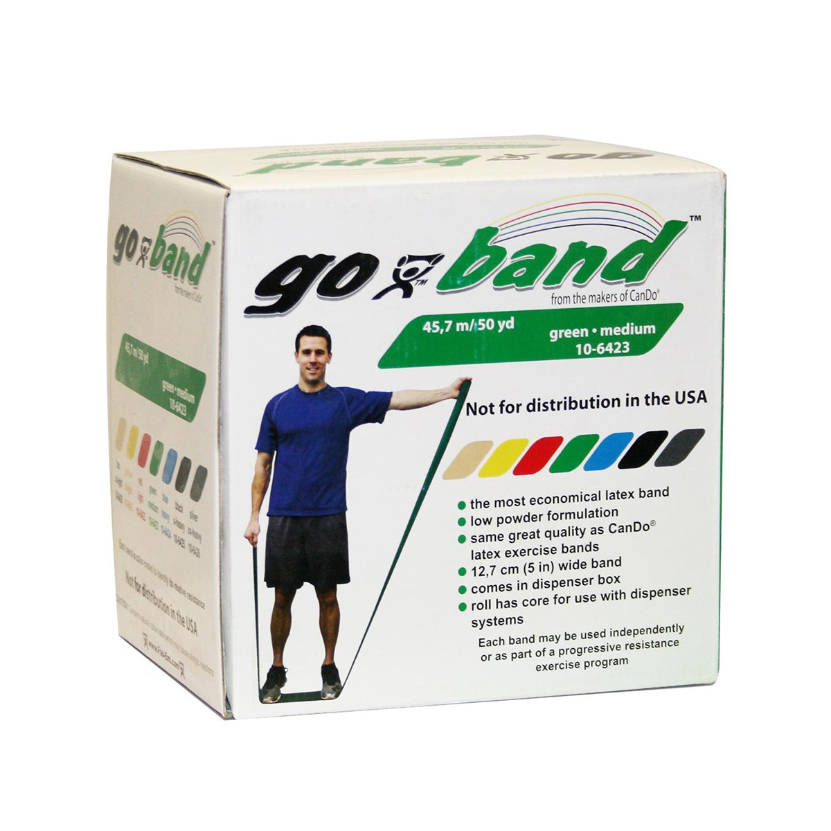 67% OFF of fixed price Fabrication Enterprises 10-6423 Go-Band yd Green 70% OFF Outlet 3 50