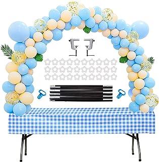 Chamvis Table Balloon Arch Kit Adjustable Balloon Stand for Baby Shower, Birthday, Wedding, Festival, Graduation Decoratio...