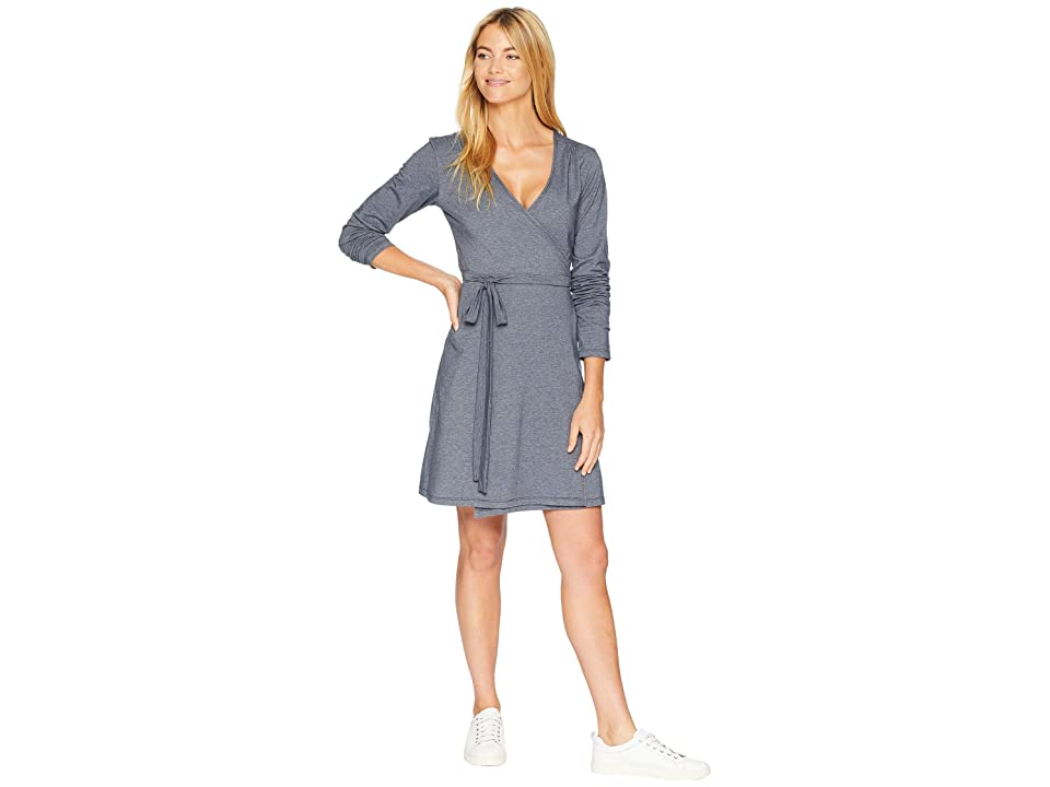 Stonewear Designs Orchard Long Sleeve Dress (Navy) Women