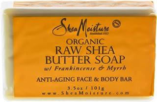 Shea Moisture Organic Coconut and Hibiscus Shea Butter Soap, 100 g