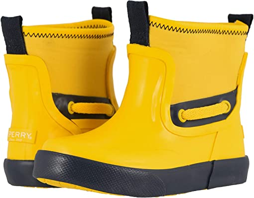 Yellow/Navy Synthetic