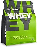 TOOSHAPED Białko Whey Protein (czekolada), 950 g, nowa, ulepszona receptura: proszek białkowy o wysokiej wydajności do...